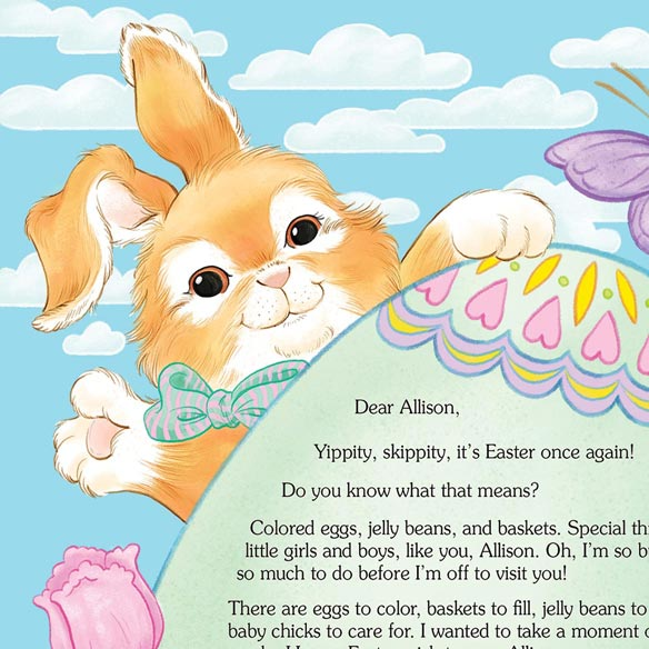 Letter And Gift From The Easter Bunny - View 3
