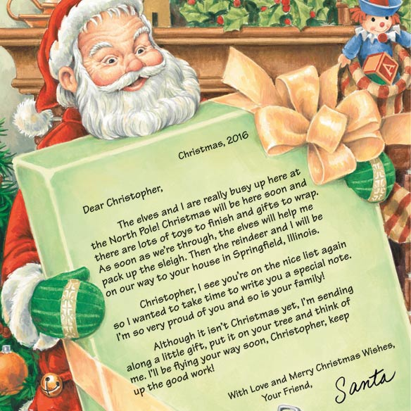 Personalized Letter From Santa - View 2