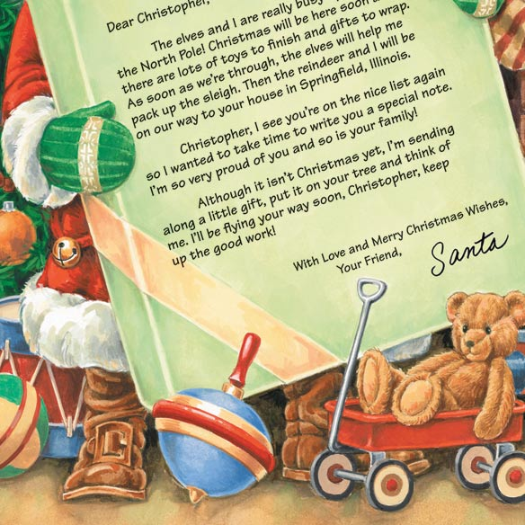 Personalized Letter From Santa - View 3