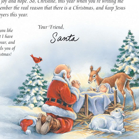 Inspirational Personalized Letter From Santa - View 5