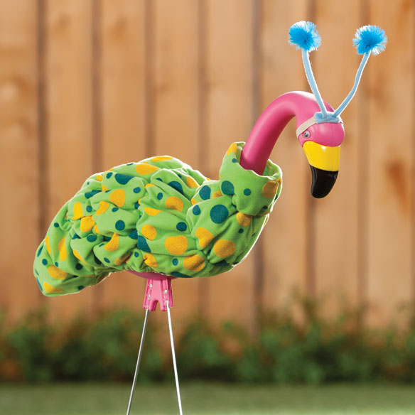 Caterpillar Goose/Flamingo Outfit - View 2