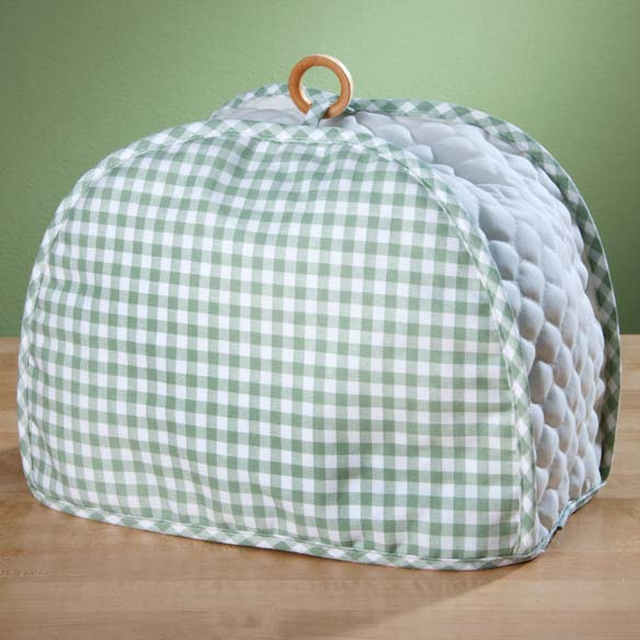 Gingham Appliance Cover 2 Slice Toaster - View 3