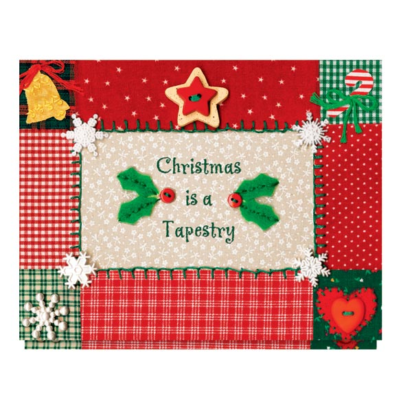 Christmas Tapestry Card Set - View 2