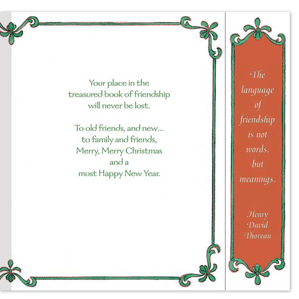 Book of Friendship Unpersonalized Card Set of 20 - View 4