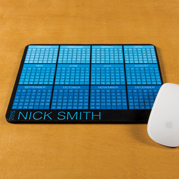 Personalized Classic Calendar Mousepad - View 2