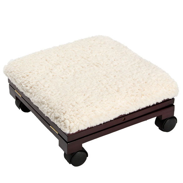 Sherpa Wooden Footrest by OakRidge Accents™ - View 4