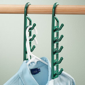 Space Saving Hangers - Set Of 4 - View 1