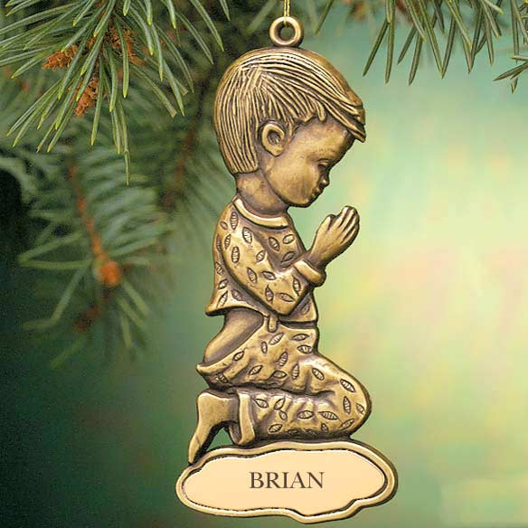 Boy Christmas Ornament