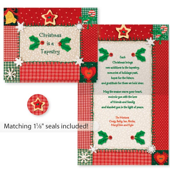 Christmas Tapestry Card Set