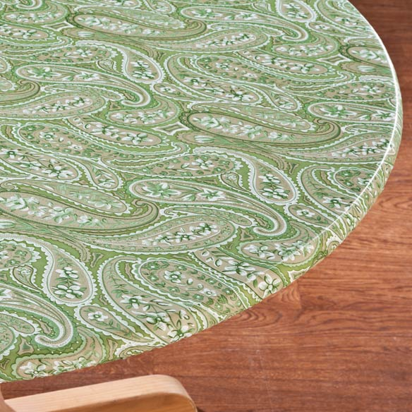 Paisley Elasticized Table Cover
