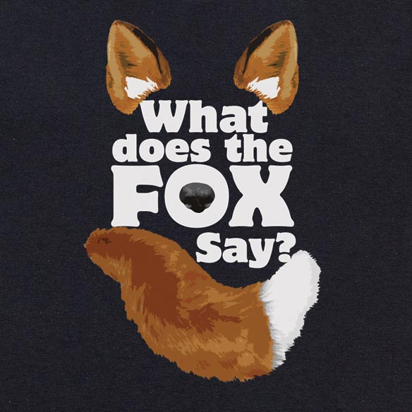 What Does The Fox Say? T-Shirt - View 1